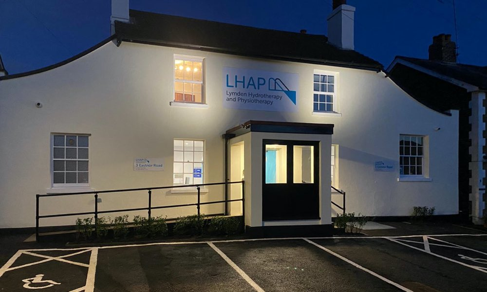 LHAP hydrotherapy clinic exterior